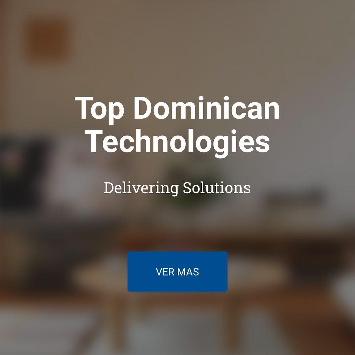 Top Dominican Technologies TDT, SRL